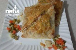 Tavuklu Bohça Böreği (Garnitürlü) Tarifi
