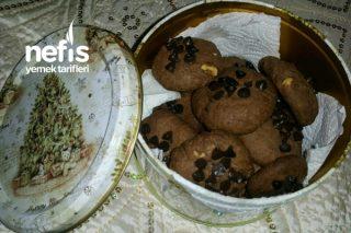 Aşırı Kolay Fındıklı Damla Çikolatalı Kurabiye Tarifi