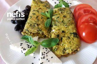 Isırgan Otlu (Dalgan Dikeni) Omlet Tarifi