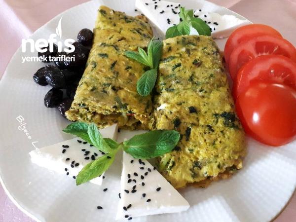 Isırgan Otlu (dalgan Dikeni) Omlet