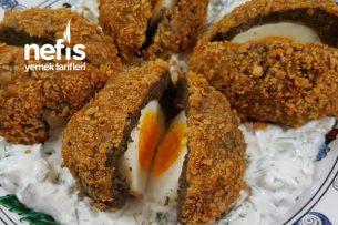 Yumurtalı Sürpriz Köfte Tarifi