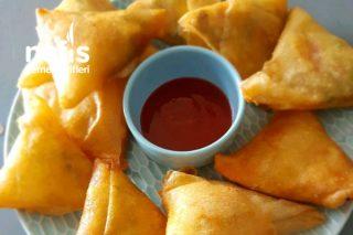 Mantarlı Çin Böreği (Çok Pratik) Tarifi