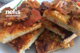 Sucuklu Pizzam Tarifi