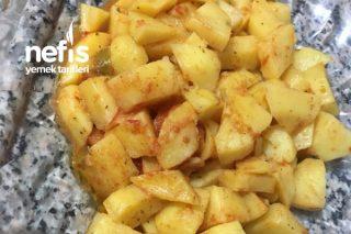 Domatesli Baharatlı Patates Tarifi