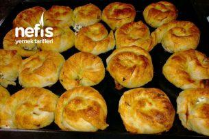 Misafirleri Kıskandıracak Sodalı Çıtır Gül Böreği Tarifi