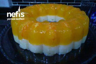 Portakallı Ve İrmikli Hafif Muhallebi Tatlısı Tarifi