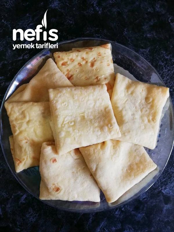 Sucuklu Kaşarlı Krep Börek(lezzeti Garanti)