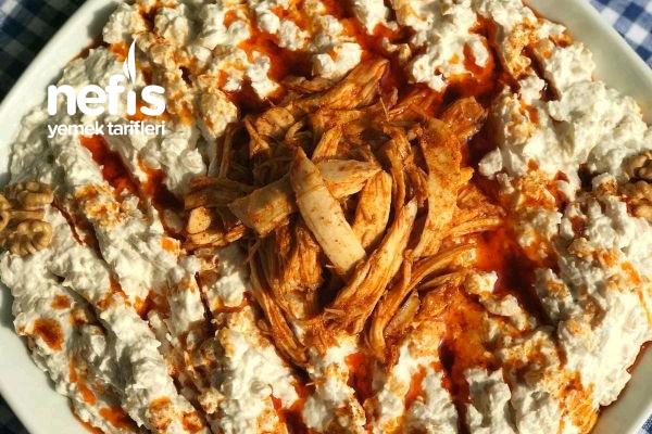 Tavuklu Buğday Salatası Tarifi