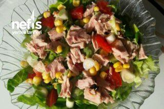 Ton Balıklı Lezzetli Salata Tarifi