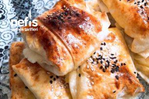 Çıtır Çıtır Peynirli Bohça Börek Tarifi