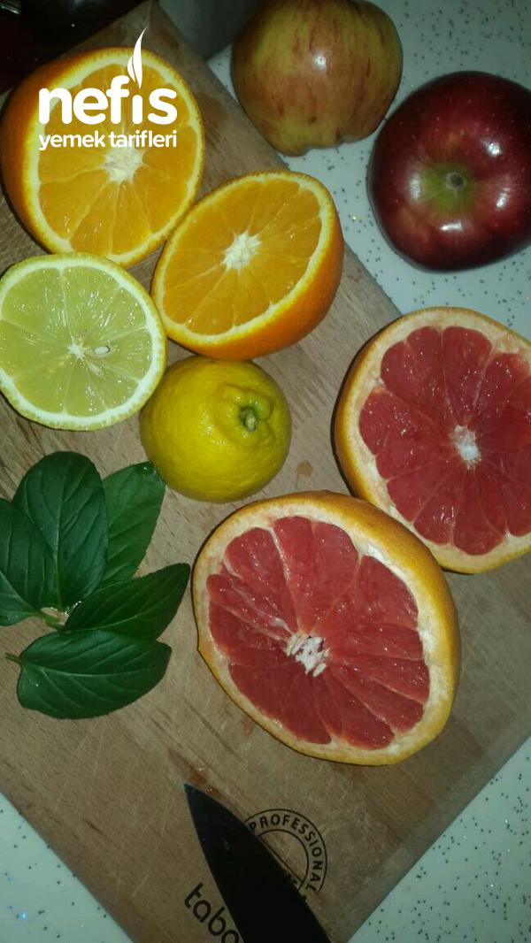 Enfes Limonata(3 turunçgilin buluşması)
