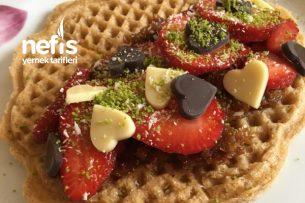 Pişmanlatmayan Waffle Tarifi