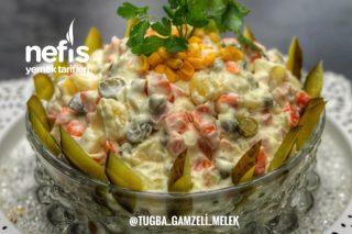 Rus Salatası (Mutlaka Deneyin) Tarifi