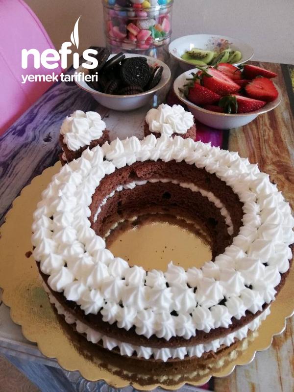 Son Trend Harf Pasta 'ö' (eşime Özel Doğum Günü Pastasi)