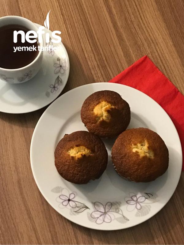 12li Muffin Kabında Havuçlu Tarçınlı Kek