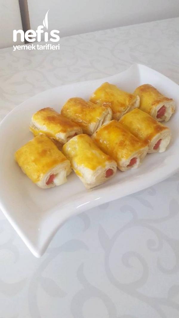 Çıtır Milföy Börek ( 5 Dakikada Hazır)
