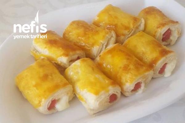 Çıtır Milföy Börek ( 5 Dakikada Hazır) Tarifi