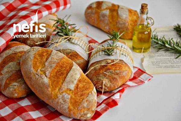 Minik Somun Ekmeği ( Orjinal Fırın Lezzeti) Tarifi