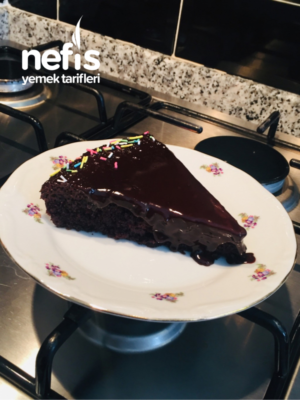 Pirinç Unlu Çikolatalı Kek