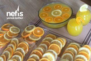 1 Limon 1 Portakal İle Limonata Yaz Ve Ramazan Ayı İçin ( Videolu ) Tarifi