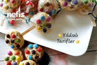 Cookie Lollipops ( Lolipop Kurabiye) Tarifi