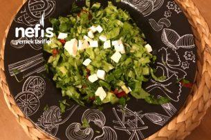 Peynirli Roka Salatası Tarifi