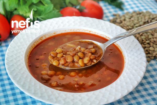 Yeşil Mercimek Çorbası (Kara Şimşek) (videolu) Tarifi