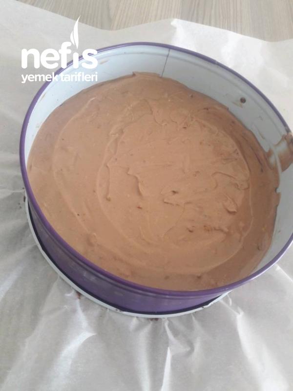 Çikolatalı Chese Kek.fırın Yok Pişirmk Yok