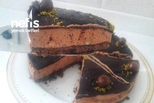 Çikolatalı Chese Kek Fırın Yok Pişirmek Yok Tarifi