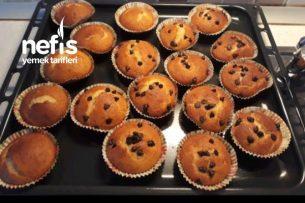 Damla Çikolatalı Muffin Kek Tarifi