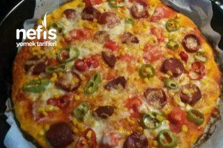 Kolay Pizza Ölçüleri Belli Tarifi
