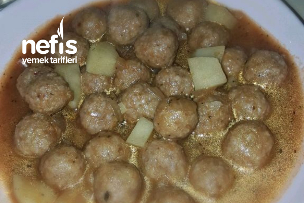 Patatesli Bulgur Köfte Yemeği Tarifi