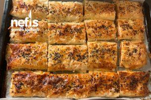 Baklavalık Yufkadan Patatesli Börek Tarifi