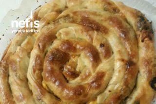 Ispanaklı Börek El Açması Pratik Tarifi