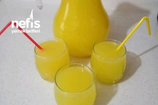 1 Portakal 2 Limonla Ev Yapımı Limonata Tarifi