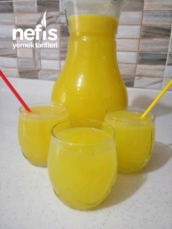 1 Portakal 2 Limonla Ev Yapımı Limonata
