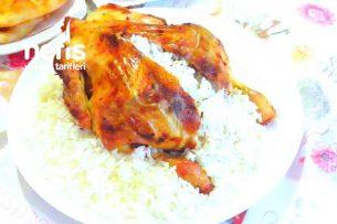 Fırın Poşetinde kolay Tavuk Dolması (Lokum) Tarifi