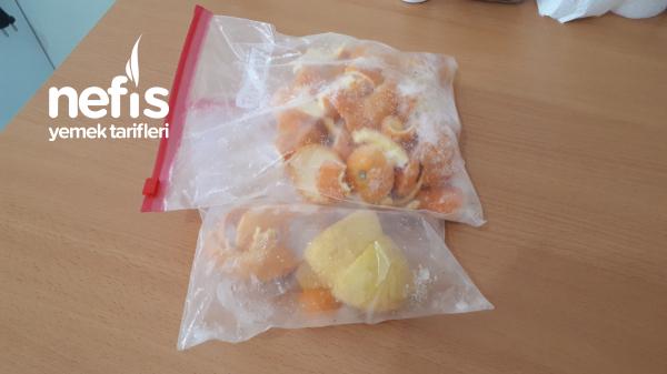 Limon,portakal Kabukları Çöp Değildir