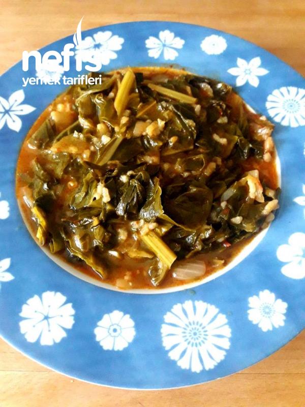 Pirinçli Lahana Yemeği (bir Karadeniz Lezzeti)