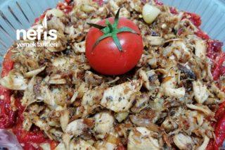Köz Biber Yatağında Baharatlı Tavuk Tarifi