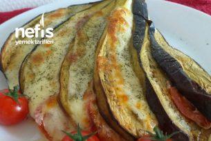 Yelpazede Patlıcan (Kahvaltıya) Tarifi