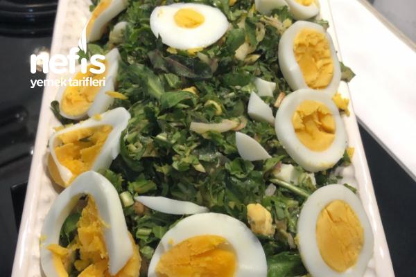 Yumurtalı Cacık Salatası Tarifi