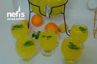 1 Portakal 1 Limonla Bereketlimi Bereketli Limonata Tarifi