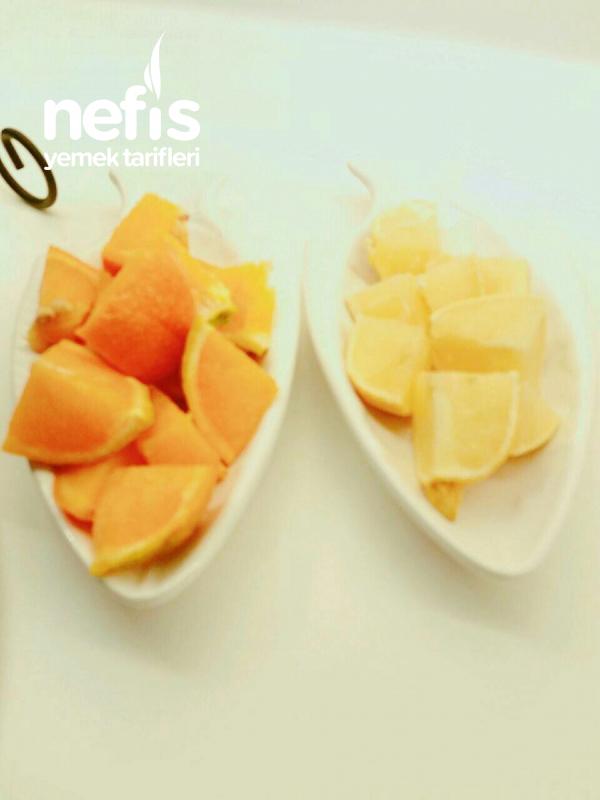 1 Portakal 1 Limonla Bereketlimi Bereketli Limonata