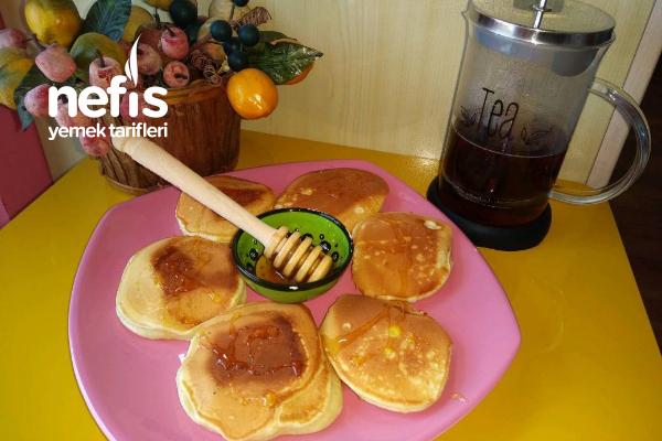 Kahvaltılık Pankekler (Çok Güzel) Tarifi