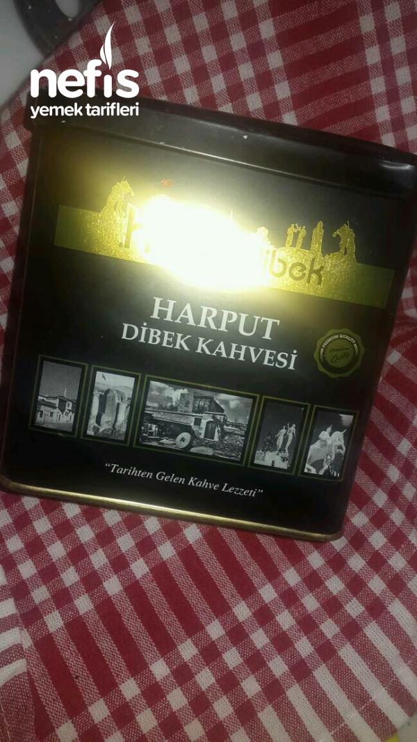 Tadı Damağımda Osmanlı Kahvem(Dibek)