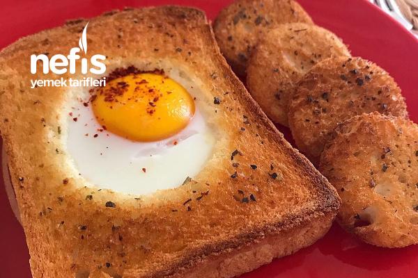 Tost Ekmeğinde Yumurta Tarifi