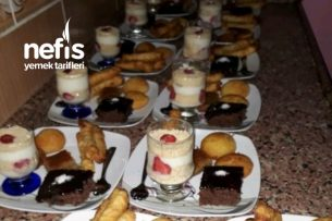 Akşam Çayına Misafirlere Tatlı Dolusu İkramlar Tarifi