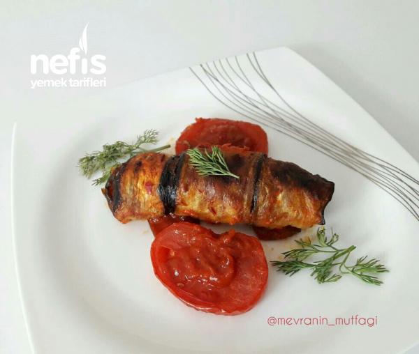 Bulgurlu Patlıcan Sarma (Mükemmel Lezzet)
