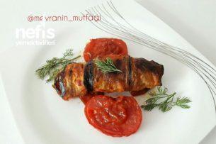 Bulgurlu Patlıcan Sarma (Mükemmel Lezzet) Tarifi